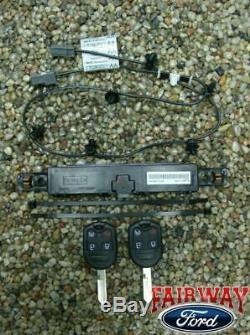 11 thru 14 F-150 OEM Genuine Ford Remote Start Kit 2 Keys RPO FACTORY NEW