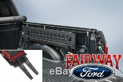 15 thru 20 Ford F-150 OEM Genuine Ford Parts Aluminum Stowable Bed Dual Ramp Kit