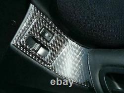1993-1998 Toyota Supra Mk4 Real Carbon Fiber Dash Trim Kit