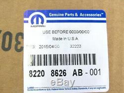 1997-2006 Jeep Wrangler TJ Chrome Grille Decor Kit MOPAR GENUINE OEM BRAND NEW