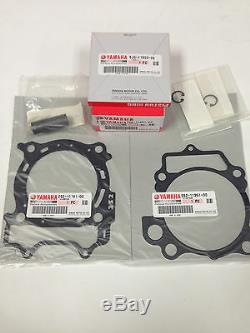 2006 2007 2008 2009 GENUINE YAMAHA YZ450F TOP END PISTON KIT WithGASKETS OE