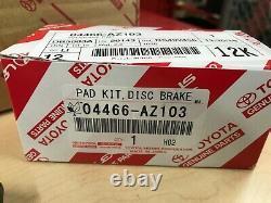 2010-2020 Toyota 4runner Genuine Oem Rear Brake Rotors Tcmc Pad Kit & Shims