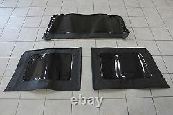 2011-2018 Jeep Wrangler JK 4 Door Soft Top Tinted Window Kit Set Of 3 Mopar OEM