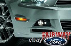 2013 2014 Ford Mustang GT OEM Genuine Ford Parts Fog Lamp Light Kit COMPLETE