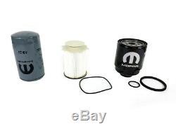 2013-2017 Ram 2500 3500 4500 5500 6.7l Diesel Oil Fuel Filter Kit Mopar Genuine