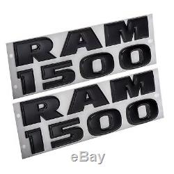2013-2018 Dodge Ram 1500 Emblem Nameplate Badge Kit Oem New Mopar Genuine