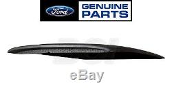 2015-2017 Mustang Genuine Ford Hood Scoop Kit Satin Black with Honeycomb Grille