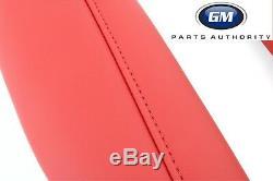2016-2018 Chevrolet Camaro Knee Pad Interior Trim Kit 84095812 Red Genuine OEM