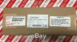 2016-2019 Toyota Tacoma Blackout Emblem Overlay Kit Genuine Oem Pt948-35180-02