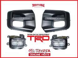 2016-2019 Toyota Tacoma Trd Pro Rigid Industries Led Fog Light Kit Genuine Oem