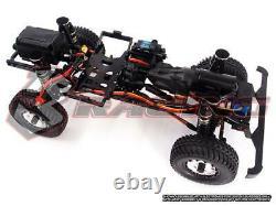 3RACING KIT-EX-REAL 110 4WD RC Crawler Kit with Motor, 2-Speed & No Electronics