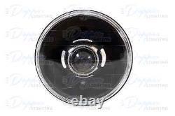 7 inch Round REAL Projector Headlight Kit LHD, Black Camaro, Spider, Nova, etc