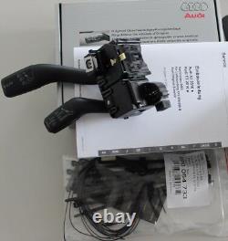Audi A3 8P original Tempomat Nachrüstsatz S3 GRA cruise speed control kit RS3