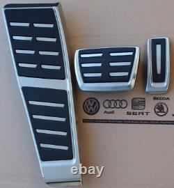Audi A6 4G C7 original RS6 Pedalset S-Line Pedale S6 pedal pads caps S7 RS7 RHD