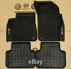 Audi Q7 4M ab 2015 original SQ7 Fußmatten Gummimatten Gummifußmatten rubber mats