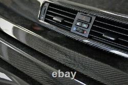 BMW E92 real carbon fiber interior trim kit coupe RHD i-drive