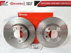 Bmw E90 E91 E92 320 320d 325 Front 300mm Genuine Brembo Brake Discs Pads Sensor