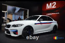 Bmw New Genuine M2 F87 M Performance Side Stripe Stickers Decal Kit Left + Right