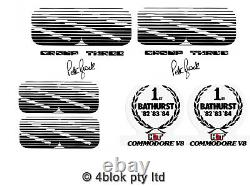 Commodore HDT VK Group 3 SS Decal Sticker Kit Guards Boot & Grille Genuine