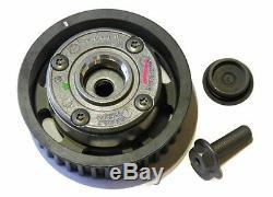 Dephaser Pulley & Timing Belt Kit Renault Megane II III 1.6 16v (genuine)