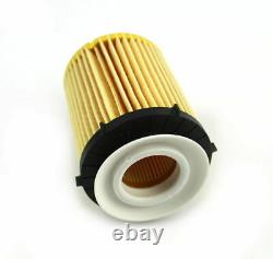 Engine Oil Filter With 7 Liters 5W-40 Motor Oil Kit For Mercedes Benz Oil Change