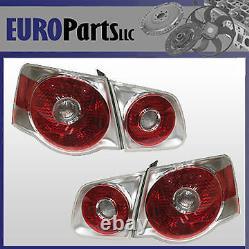 Euro Tail Light Kit Volkswagen Jetta Mk5, 2005-2010, 1KM052204U, 1KM 052 204 U