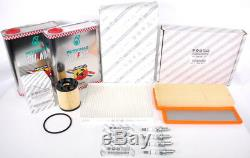 Fiat 500 Abarth Full Service Kit Selenia Oil, Plugs, Oil Filter, Pollen Genuine