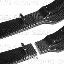 Fit 2014-219 Bmw 4-series F32 F33 F36 M Sport Real Carbon Fiber Front Bumper Lip