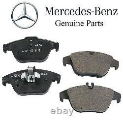 For Mercedes X204 GLK250 GLK350 Front & Rear Brake Pad Sets Kit with Shims Genuine