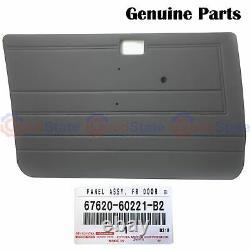 GENUINE Toyota LandCruiser 70 73 75 78 79 Series Front RH LH Grey Door Trim Kit