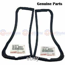 GENUINE Toyota LandCruiser FJ40 FJ45 HJ45 HJ47 Quarter 1/4 Vent Window Seal Kit