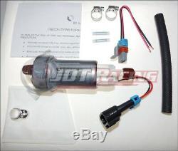 GENUINE WALBRO 450LPH High Performance Fuel Pump +Kit F90000274 E85 NEW 800+ HP
