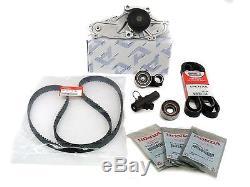 Genuine / Aisin OEM Timing Belt & Water Pump Kit Honda/Acura V6 Factory Parts
