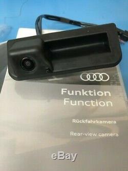 Genuine Audi Reversing Camera Retro Fit Kit New Model A4, A5, A6, Q2, Q3, Q5, Q7