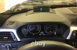 Genuine BMW 1 2 3 4 5 X1 X3 X4 Head Up Display Screen With Installation Kit Set