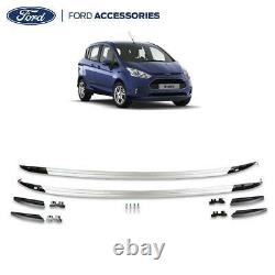 Genuine Ford B-Max O/S & N/S Roof Rails Kit Left & Right Silver 2015- 2002327
