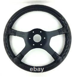 Genuine Ford RS Motorsport 4 spoke steering wheel. Fiesta MK3, NOS in box 16A