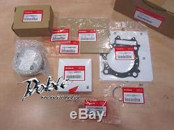 Genuine Honda OEM CRF450R 2005, 2006, 2007, 2008 Complete Piston Kit