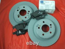 Genuine Mercedes-Benz C218 CLS Coupe Shooting Brake REAR Discs & Pads Kit NEW