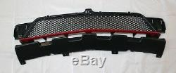 Genuine Mercedes-Benz W176 A-Class Central Lower Grille With Red Lip NEW