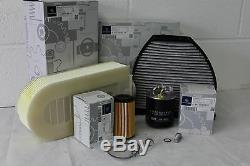 Genuine Mercedes-Benz W204 C-Class Diesel Filter Service Kit Oil NEW