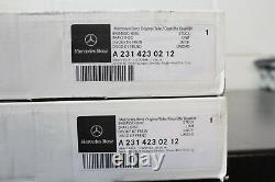 Genuine Mercedes-Benz W205 C-Class C63 AMG REAR Brake Discs A2314230212 X2 NEW