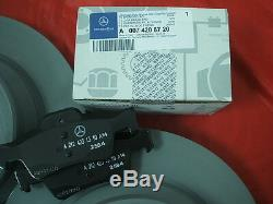 Genuine Mercedes-Benz W212 E-Class Saloon/Est REAR Discs & Pads Kit NEW