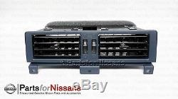 Genuine Nissan 1987-1992 Pathfinder Hardbody D21 Pickup Blue Ac Vent Set Kit