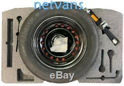 Genuine Nissan Qashqai J11 & J11B Space Saver Spare Wheel Kit Inc Tyre New