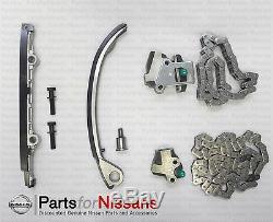 Genuine Nissan Timing Chain Kit Ka24de Tensioner Guide Chain Kit S13 S14 New Oem
