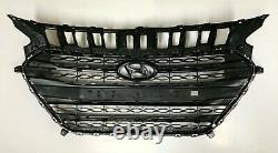 Genuine OEM Radiator Hood Grille Kit Set For 2012-2015 Hyundai Elantra GT i30