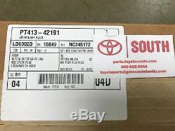 Genuine OEM Toyota LED Fog Light Upgrade Kit Black Bezel PT413-42191