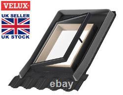 Genuine VELUX Access Skylight Roof Window 45x55 cm Loft Rooflight Flashing Kit