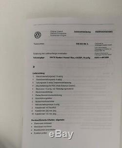 Genuine VW Transporter T5 13-PIN Towbar Electrical Installation Kit 7H0055204A